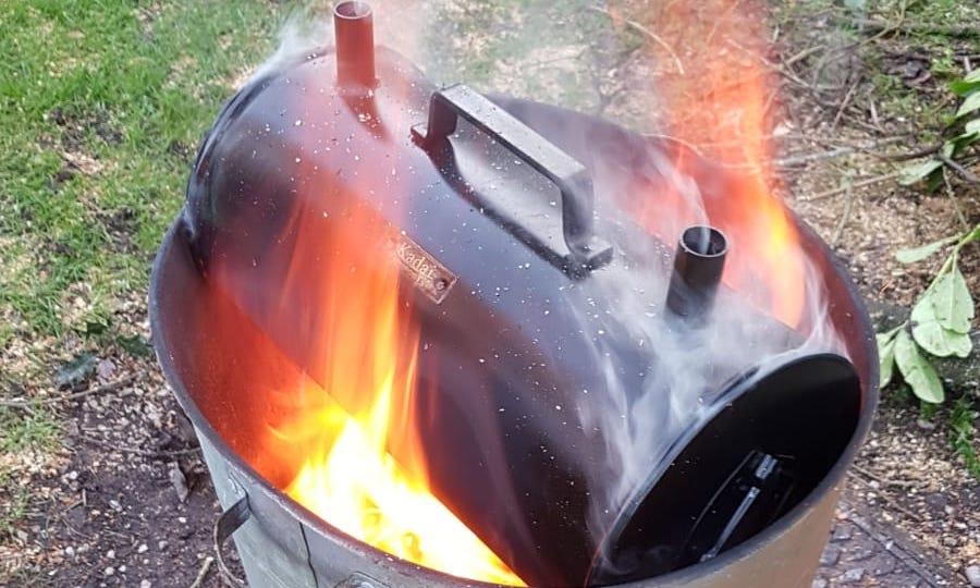 rudimentary pyrolysis equipment